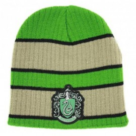 Harry Potter - Beanie with Slytherin Patch logo