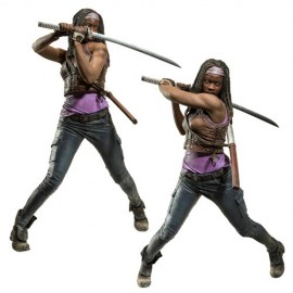 Figurine The Walking Dead - Michonne Deluxe 25cm