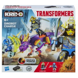 Kre-O Transformers - Age of Extinction - Dinobot Charge
