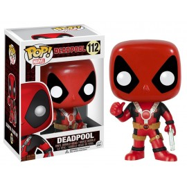 Figurine Marvel - Deadpool Thumb Up Pop 10cm