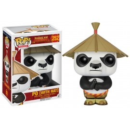 Figurine Kung Fu Panda - Po with Hat - Pop 10 cm