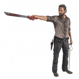 Figurine The Walking Dead - Rick Grimes Vigilante Edition Deluxe 25cm