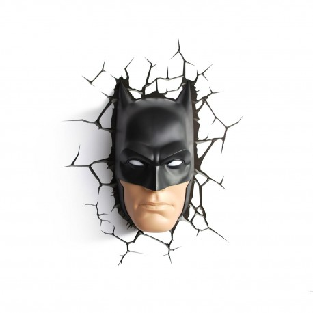 3d Masque Batman Murale Applique Deco Light SMVqUzp