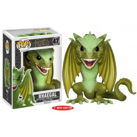 Figurine Game of Thrones - Rhaegal Oversized Pop 15cm