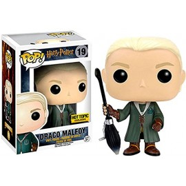 Figurine Harry Potter - Quidditch Draco Malfoy Exclusive Pop 10cm