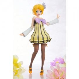 Figurine Hatsune Miku Project Diva - Kagamine Rin Cheerful Candy Sega Prize 24cm