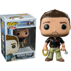 Figurine Uncharted 4 - Nathan Drake Exclusive Pop 10cm
