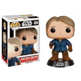Figurine Star Wars The Force Awakens - Han Solo Snow Gear Exclusive Pop 10cm