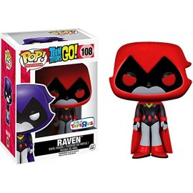 Figurine Teen Titans Go ! - Red Raven Exclusive Pop 10cm