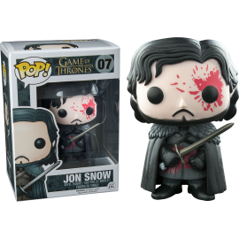 Figurine Game Of Thrones - Jon Snow Bloody Exclusive Pop 10cm