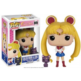Figurine Sailor Moon - Sailor Moon & Luna Pop 10cm