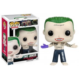 Figurine Suicide Squad - Joker Shirtless Pop 10cm