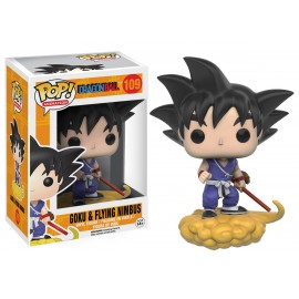 Figurine Dragon Ball Z - Goku & Flying Nimbus Pop 10cm