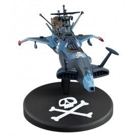 Figurine Albator/Captain Harlock - Réplique Space Pirate Battleship Arcadia 17cm