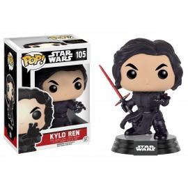 Figurine Star Wars The Force Awakens - Kylo Ren Unmasked Battle Damaged Pop 10cm