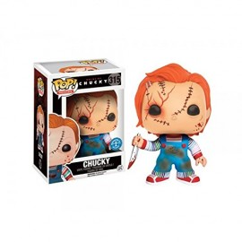 Figurine Chucky - Scarred Chucky Exclu - Pop 10 cm