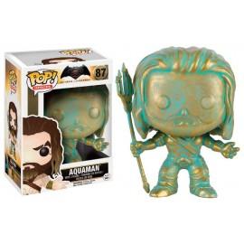 Figurine Batman V Superman - Aquaman Patina Exclusive Pop 10cm
