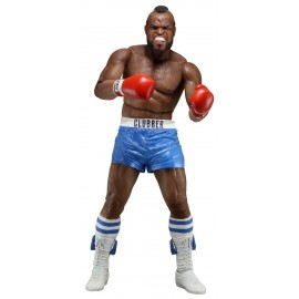 Figurine Rocky III - Clubber Lang Blue Short 40th Anniversary 18cm