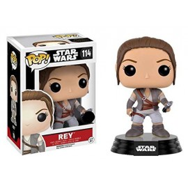 Figurine Star Wars The Force Awakens - Rey Final Scene Lightsaber Pop 10cm