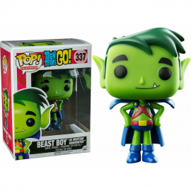 Figurine Teen Titans Go ! - Beast Boy as Martian Manhunter Exclusive Pop 10cm