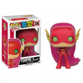 Figurine Teen Titans Go ! - Starfire as The Flash Exclusive Pop 10cm