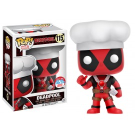 Figurine Marvel - Chef Deadpool NYCC 2016 Pop 10cm