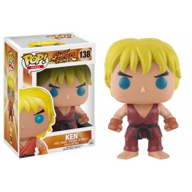 Figurine Street Fighter - Ken Pop 10cm