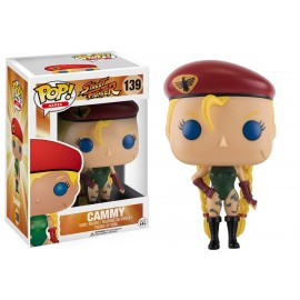 Figurine Street Fighter - Cammy Pop 10cm