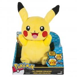 Peluche Pokemon - Peluche Pikachu avec mouvement & sons 20cm