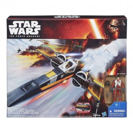 Star Wars Episode VII - X-Wing Fighter avec figurine 2015 Class III Poe's