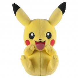 Peluche Pokemon - Pikachu C (laughing) 20 cm
