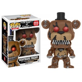 Figurine Five Nights at Freddy's - Nightmare Freddy Pop 10cm