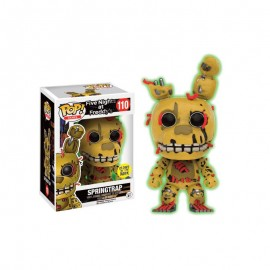 Figurine Five Nights at Freddy's - Springtrap Glows in the Dark Pop 10cm