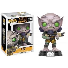 Figurine Star Wars Rebels - Zeb Pop 10cm