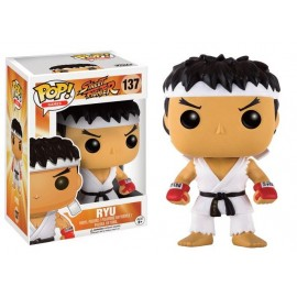 Figurine Street Fighter - Ryu With Headband White Pop 10cm