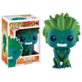 Figurine Street Fighter - Blanka Blue Green Exclusive Pop 10cm