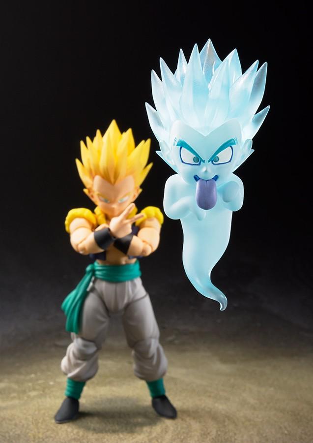 Figurine Dragon Ball Z - súper Saiyan Gotenks S.H.Figuarts 13cm