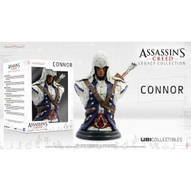 Figurine Assassin's Creed Legacy - Buste Connor Kenway 20 cm