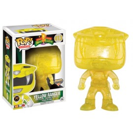 Figurine Power Rangers - Yellow Ranger Morphing Exclusive Pop 10 cm