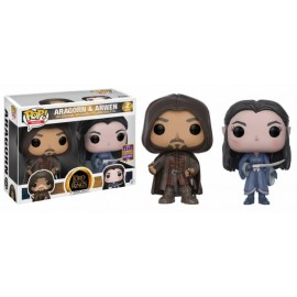 Figurine The Lord of The Ring - Pack Aragorn & Arwen SDCC 2017 Pop 10cm