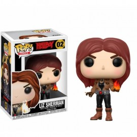 Figurine Hellboy - Liz Sherman Pop 10cm