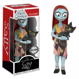 Figurine Nightmare Before Christmas - Rock Candy Sally With Cat 13cm