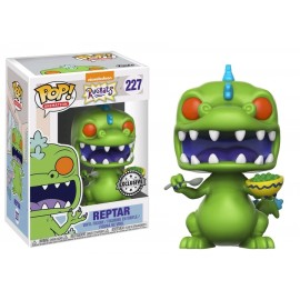 Figurine Les Razmoket - Reptar with Cereal Box Exclusive Pop 10cm