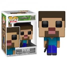 Figurine Minecraft - Steve Pop 10cm