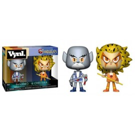 Figurine Thundercats/Cosmocats - 2Pack Panthro & Cheetara Vynl 10cm