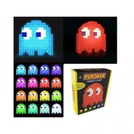 Figurine - Pac-Man - Lampe Led Ghost 20cm