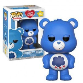 Figurine Care Bears/Bisounours - Grumpy Bear Pop 10cm