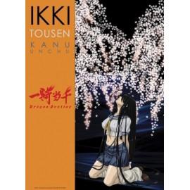 "Poster - Ikki Tousen ""Kanu flowers"" 52x38cm"