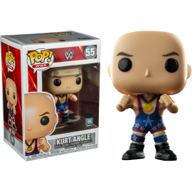 Figurine WWE - Kurt Angle Ring Gear Pop 10 cm
