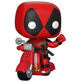 Figurine Marvel - Deadpool - Deadpool & scooter - Pop 10 cm